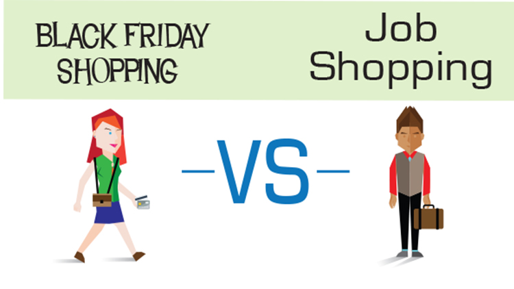 Black Friday Shopping vs Job Shopping