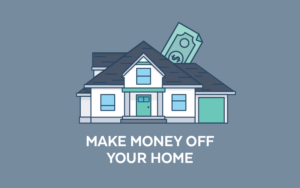 Ways to Use Your House for Extra Income | Atlantic Bay Mortgage Group
