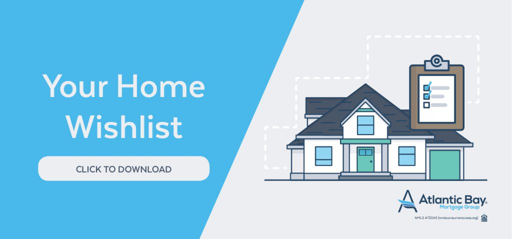 Downloadable house hunting wish list