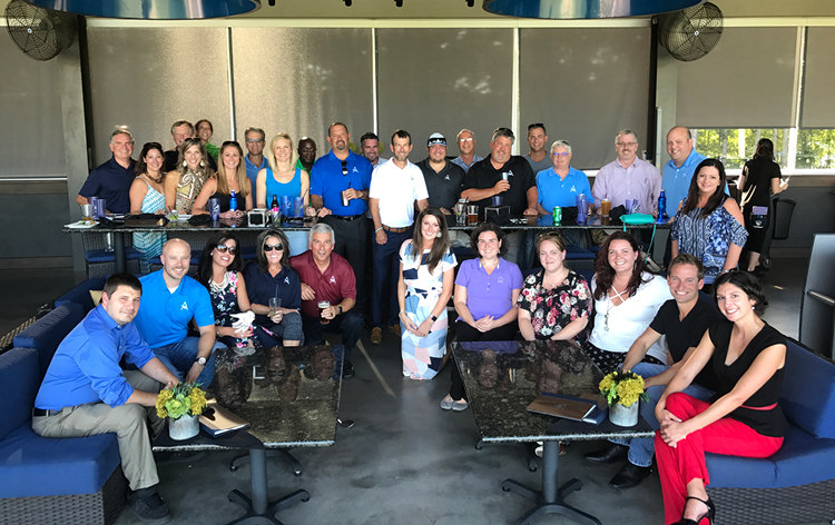 Atlantic Bay Mortgage Group held their ­­­fourth annual Sales Appreciation Month