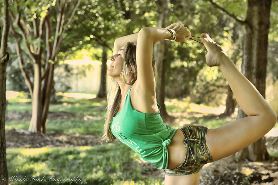 I have been teaching yoga for almost a decade, it keeps me grounded