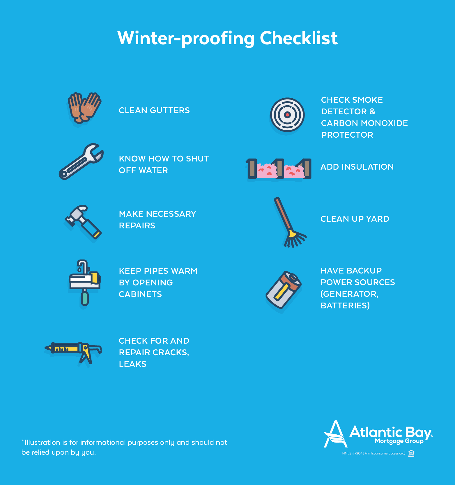 Winter-proofing Checklist